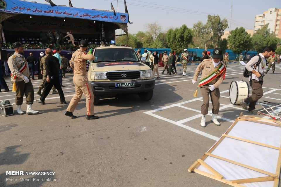 Iran summons UAE envoy over parade attack comments