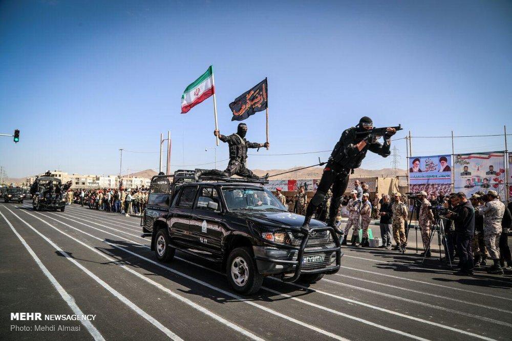 رژه ۳۱ شهریور نیروهای مسلح در استانها - ۲