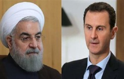 Assad offers condolences to Rouhani for victims of terror attack