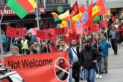 Erdoğan'ın Almanya ziyareti başlamadan protestolar başladı