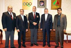 دیدار رئیس کمیته داوران فدراسیون جهانی کاراته با صالحی امیری