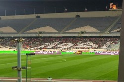 تابلوی یادبود پیشکسوتان فوتبال خوزستان در ورزشگاه اهواز نصب شد