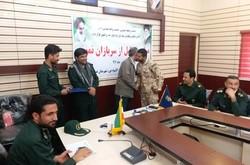سربازان نمونه سپاه در شهرستان عسلویه تجلیل شدند
