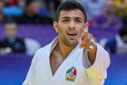 گزارش تصویری/ قهرمانی مرد طلایی جودو ایران در جهان
