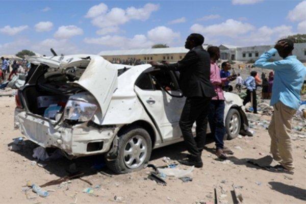 حمله به مجتمع ریاست جمهوری سومالی