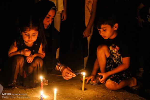 حداد اهالي اهواز على ضحايا الهجوم الارهابي