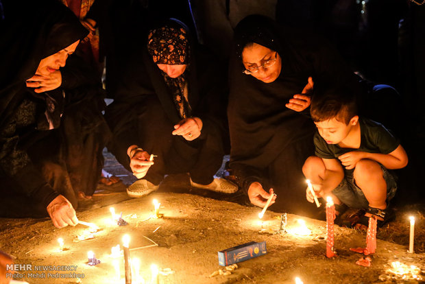Candlelight tribute held for victims of Ahvaz terror attack