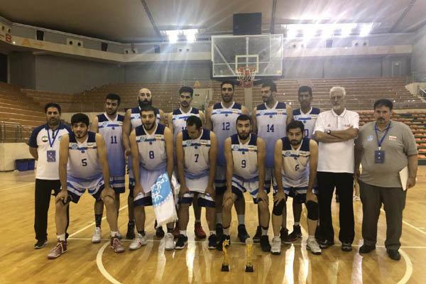 نماینده ایران قهرمان مسابقات بسکتبال بین دانشگاهی آسیا شد
