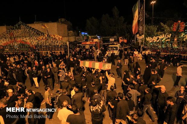 اجتماع بزرگ حماسه حسینی، قیام خمینی در قم