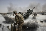الحشد الشعبي يتهم التحالف الدولي بقصف مقره في القائم غرب العراق