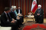 Iran willing to deepen ties with intl. financial institutions: Rouhani