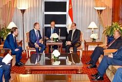 دیدار سیسی با صدراعظم اتریش و رئیس شورای اروپا در نیویورک