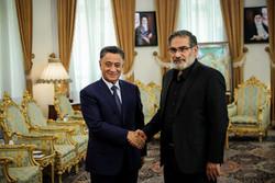 دیدار وزیر کشور جمهوری آذربایجان با دبیر شورای عالی امنیت ملی