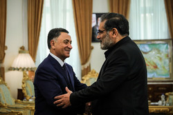 Shamkhani meets with Azeri interior min. in Tehran