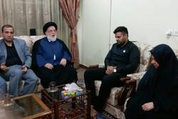 معاون رئیسجمهور با خانواده مدیرکل اسبق بنیاد شهید خوزستان دیدار کرد