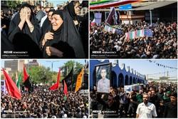 آئین گرامیداشت شهدای حادثه تروریستی اهواز در آبادان برگزار شد