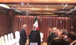 رئیس کمیته بین المللی المپیک با رئیس جمهور دیدار کرد