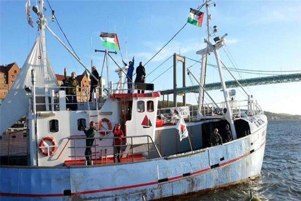 شهيد و50 إصابة بقمع الاحتلال المسير البحري التاسع شمال غزة