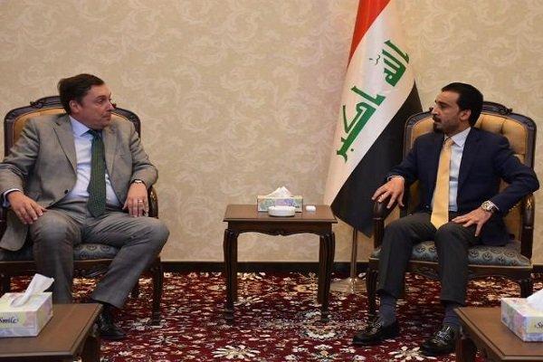 عراقی پارلیمنٹ کے اسپیکر سے برطانوی سفیر کی ملاقات