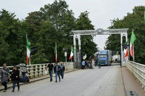 اجناس ایرانی درصف انتقال به آن سوی مرز/ورود روزانه2هزار تبعه آذری