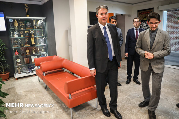Turkish amb. tours MNA HQ