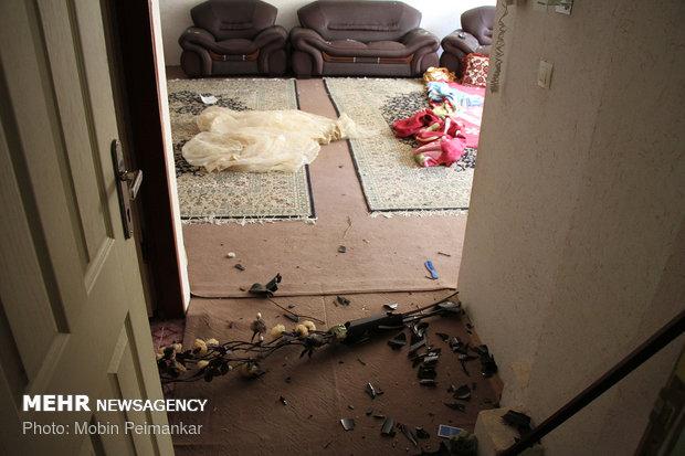 انفجار گاز در ساختمان مسکونی در سنندج