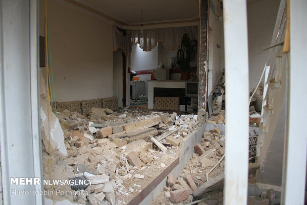 ۶ کشته و زخمی بر اثر انفجار گاز در اردبیل