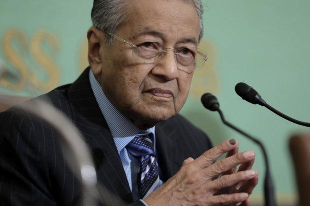 US sanctions on Iran violate international law: Malaysian PM