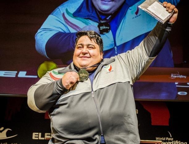 رباع ايراني يتقلد ذهبیة وزن 107 في دورة الالعاب البارآسيوية