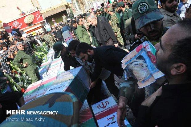 تشییع شهدای حادثه تروریستی اهواز-2