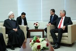 Terror groups backed by countries claiming to fight terrorism: Rouhani