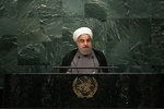 In UN address, Rouhani lashes out at US unilateralism