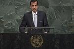 تميم بن حمد: على المجتمع الدولي التوصل لحل سياسي يحقن الدم السوري