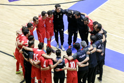 دیدار تیم های فوتسال ایران و ژاپن