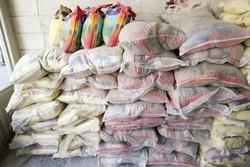 ذخیره سازی ۴ هزار تن برنج در انبارهای آبادان