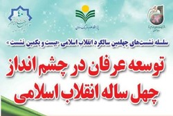 نشست «توسعه عرفان در چشمانداز چهل ساله انقلاب اسلامی»