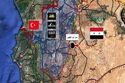 حرکت غیرنظامیان از ادلب به سوی مناطق تحت کنترل ارتش سوریه