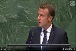 ماكرون يحذر من أن تتحول الأمم المتحدة إلى رمز للعجز ويدعو للالتزام بالاتفاق النووي