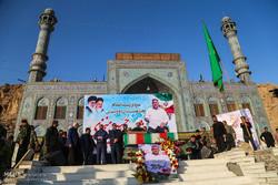 تشییع پیکر سردار شهید حسین منجزی