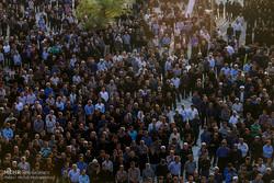 فلم/ اہواز میں 4 سالہ شہید کی تشییع جنازء میں عوام کی شرکت