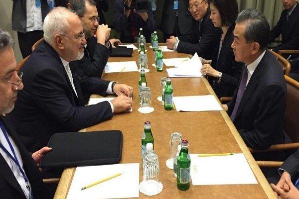 وزير الخارجية الصيني: سنستمر في علاقاتنا الاقتصادية مع ايران