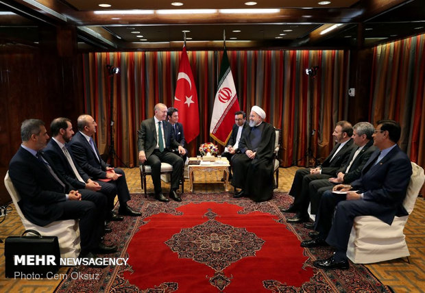 Rouhani, Erdogan meeting in NY