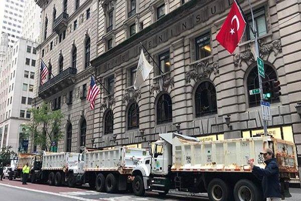 New York'ta şaşırtan görüntüler