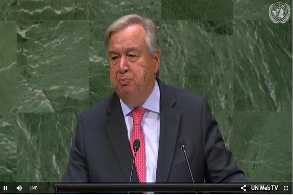 الأمين العام للأمم المتحدة: عجزنا عن وضع حد للحروب في اليمن وسوريا