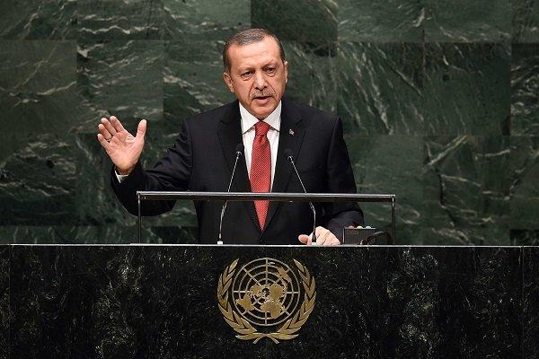 Erdoğan, BM Genel Kuruluna hitap etti