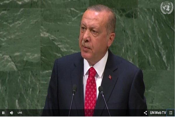 أردوغان : سنواصل الوقوف إلى جانب الفلسطينيين