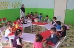برگزاری دورهمی بازی و آموزش کودکان زیر ۷ سال