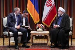 Paşinyan, Ruhani'yi ülkesine davet etti