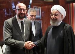 روحاني: مواقف اوروبا جيدة لكن نريد خطوات عملية للحفاظ على الاتفاق النووي