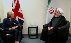 Ruhani New York'ta İngiltere Başbakanı ile bir araya geldi